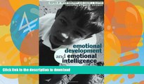 Epub Emotional Development And Emotional Intelligence: Educational Implications Full Download