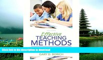 Hardcover Effective Teaching Methods: Research-Based Practice, Enhanced Pearson eText with