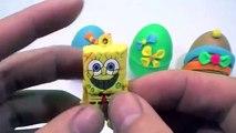 Kinder Oeufs Surprise !!! - Jeux Jouent Oeufs Colorés Peppa Pig 2016 Lego Vidéos Doh Voiture Jouets