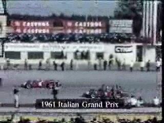F1 - 1961 - Monza - VonTrips -  Fatal Crash Color