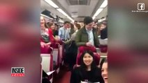 Train Conductor Reunites With Yale University Glee Club To Spread Holiday Cheer