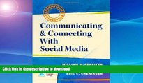 Free [PDF] Communicating and Connecting With Social Media (Essentials for Principals) Full Download
