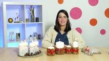Déco Brico Jardinage : Bougies de Noël à faire soi-même à petit prix