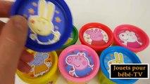 Jouets pour bébé Play Doh Peppa Pig Surprise oeufs jouets Thomas Minecraft Lalaloopsy patte