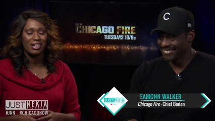 Chicago Fire's Eammon Walker Celebrates The 100th Episode