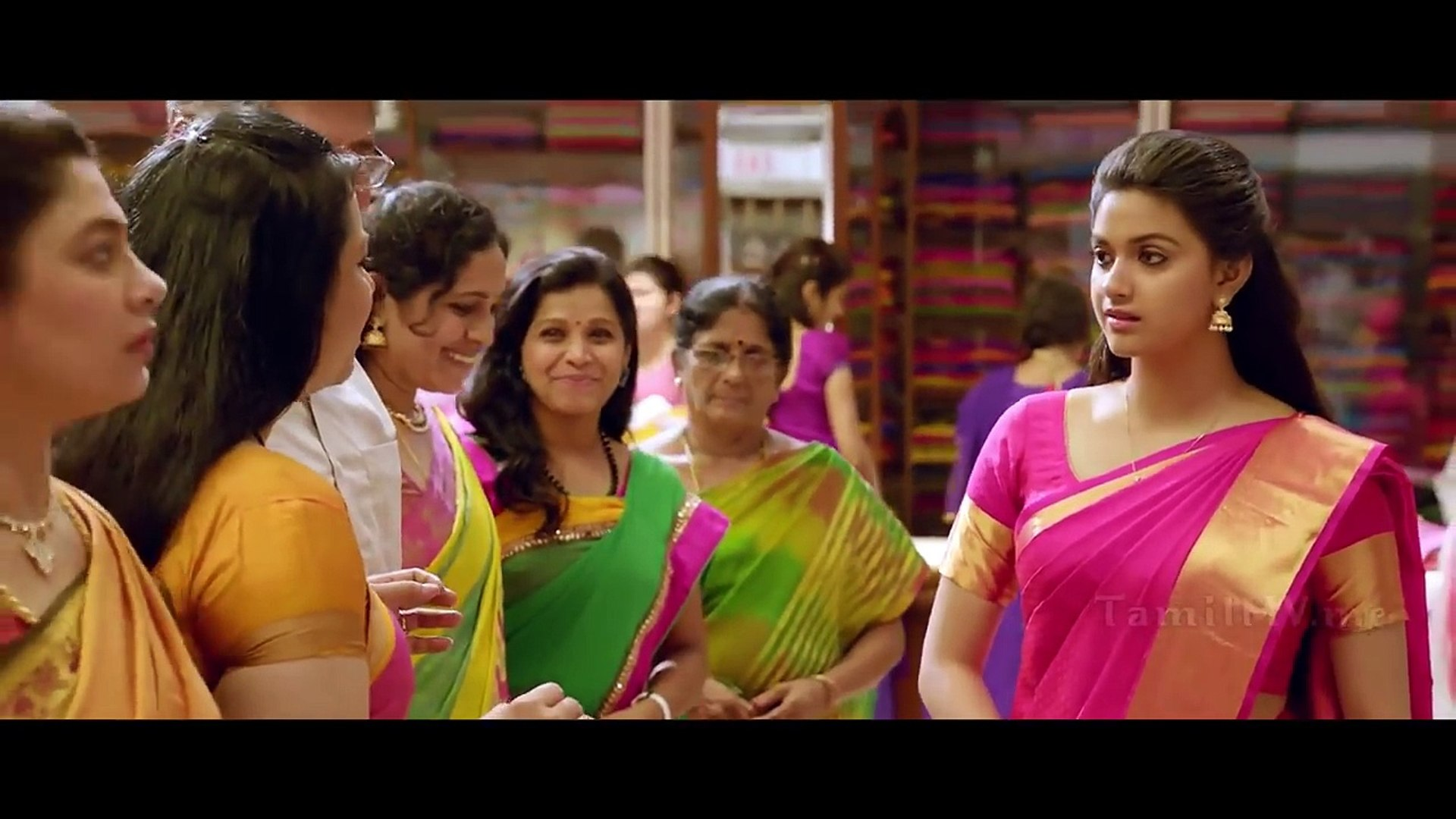 charming keerthy suresh in saree remo video dailymotion charming keerthy suresh in saree remo