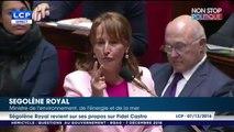 """Ségolène Royal sur la polémique Fidel Castro: """"n'allez pas me dire que 4 millions de touristes se rendent dans une dictature!"""""""