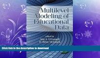 READ Multilevel Modeling of Educational Data (Quantitative Methods in Education and the Behavioral