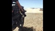 Une moto de fou