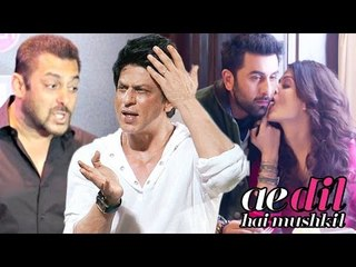SRK Lashes Out Salman's FAN Openly, Aishwarya Ranbir Hot Scene Deleted From ADHM | Bollywood New