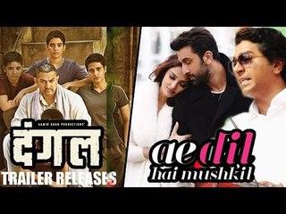 Aamir Khan's DANGAL Trailer release, Raj Thackeray Removes BAN From Ae Dil Hai Mushkil
