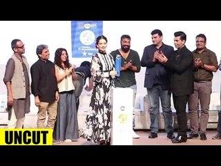 Jio MAMI 18th Film Festival Press Conference | Karan Johar, Kangana Ranaut, Kiran Rao - UNCUT