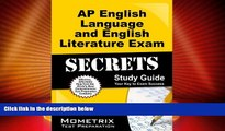 Best Price AP English Language and English Literature Exam Secrets Study Guide: AP Test Review for
