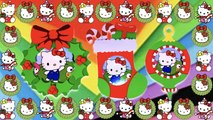 DIY How to Create Christmas Hello Kitty Photo Frame Magnets? (Christmas Wreath, Ornament & Stocking)