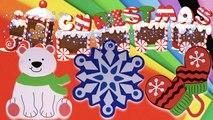 DIY How to Create Foam Sheet Christmas Theme Magnets? (Polar Bear, Mittens & Snow Flake)