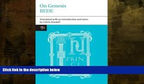 Buy  Bede: On Genesis (Translated Texts for Historians LUP)   Full Book