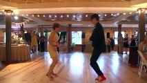 La danse de mariage la plus cool et fun de l'année! Bonne ambiance