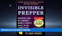 Hardcover INVISIBLE PREPPER - DISAPPEAR FROM BIG BROTHER S RADAR   PROTECT ASSETS IN THE COMING