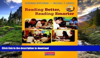 Hardcover Reading Better, Reading Smarter: Designing Literature Lessons for Adolescents