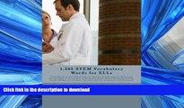 Pre Order 1,265 STEM Vocabulary Words for ELLs: (Translations of over 1265 Science, Technology,