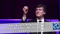Bah alors Montebourg, on oublie qu'une journaliste est dans le studio?