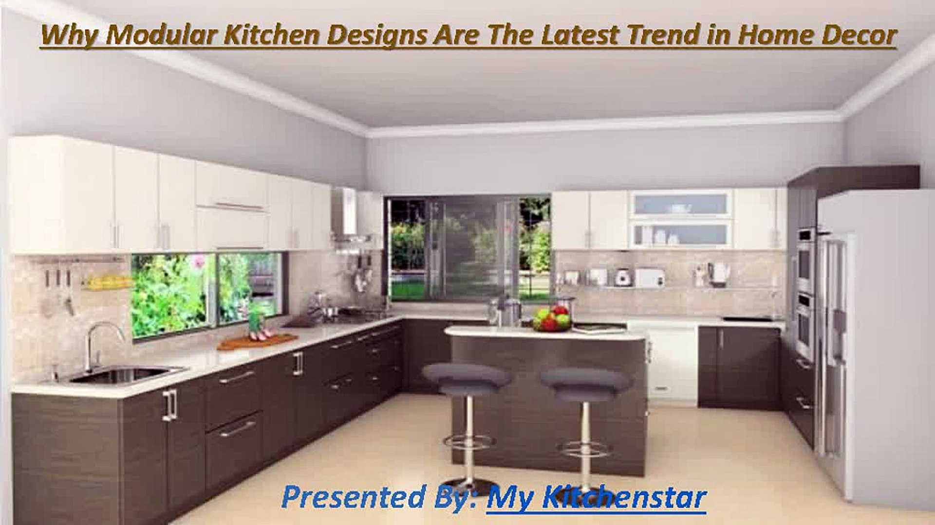 Why Modular Kitchen Designs Are The Latest Trend In Home Decor Video Dailymotion