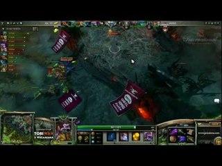 [EndGame] Mousesports vs Na'Vi Game 1 The International 3 Group Stage