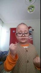 Lösemi hastası minik Mustafa Eren Can