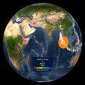 Tremblements de Terre 2001-2015 par Noaa