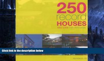 Pre Order 250 Record Houses: Architects 49 (1983 - 2008) Architects 49 On CD