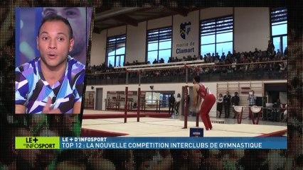 Jim Zona et Thomas Bouhail sur le plateau d'Infosport+