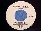 Performance (1970) Radio Spots