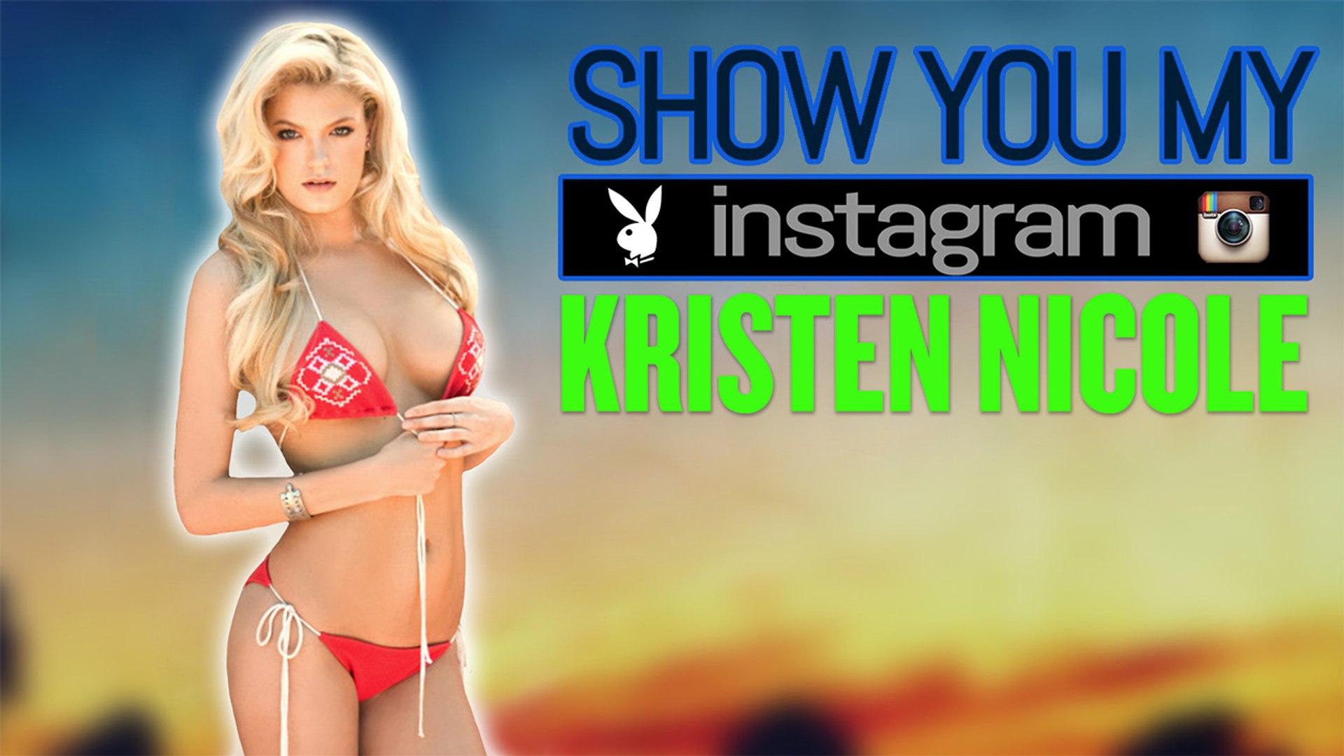 Playboy kristen nicole Kristen Nicole