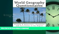 READ World Geography Questionnaires: Oceania   Antarctica - Countries and Territories in the