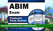 BEST PDF  ABIM Exam Flashcard Study System: ABIM Test Practice Questions   Review for the American