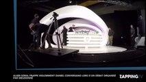 Dieudonné : Alain Soral agresse violemment Daniel Conversano dans l'émission du polémiste (Vidéo)