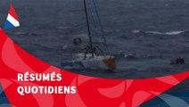 J32 : Kito de Pavant recueilli à bord du Marion Dufresne / Vendée Globe