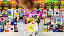✔ Huevo Sorpresa Gigante beauty mascota princesa disney Plastilina Play-Doh colorines y mas