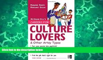 Pre Order Careers for Culture Lovers   Other Artsy Types, 3rd ed. (McGraw-Hill Careers for You