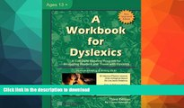 Hardcover A Workbook for Dyslexics, 3rd Edition On Book