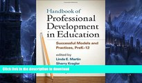 READ Handbook of Professional Development in Education: Successful Models and Practices, PreK-12