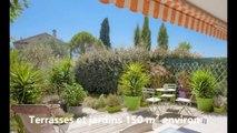 Vente appartement 5 pièces rez de jardin Grasse sud exclusivité WB Immobilier