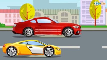 Eğitici Çizgi film - Yarış Arabası - Akıllı Arabalar - Türkçe izle