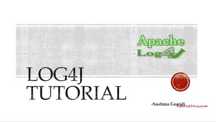 Log4j Resource | Learn About, Share and Discuss Log4j At