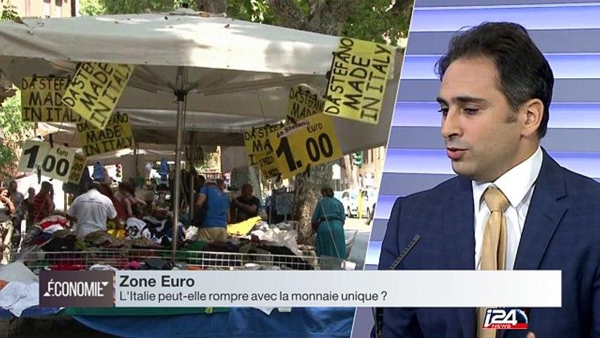 Débat : L'Italie, danger n°1 pour la Zone Euro ?