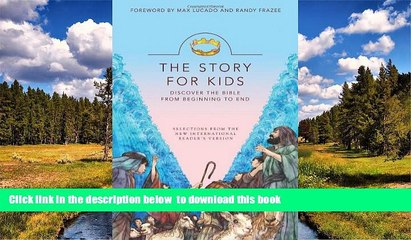Audiobook NIrV, The Story for Kids, Paperback: Discover the Bible from Beginning to End Zonderkidz