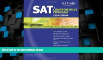 Best Price Kaplan SAT 2009 Comprehensive Program Kaplan For Kindle