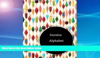 Buy  Cursive Alphabet Book: Practice Writing Cursive Letters Worksheets.  Large 8.5 in by 11 in