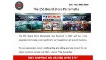 The ESS Board Present Snowboard Gears