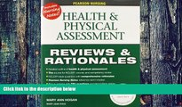 Price Pearson Nursing Reviews   Rationales: Health   Physical Assessment (Reviews and Rationales)